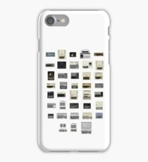 Pixel History of Home Computers iPhone Case/Skin