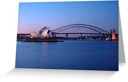 Sydney Icons at Twilight by Gino Iori