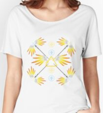 Mercy Inspired Print Women's Relaxed Fit T-Shirt