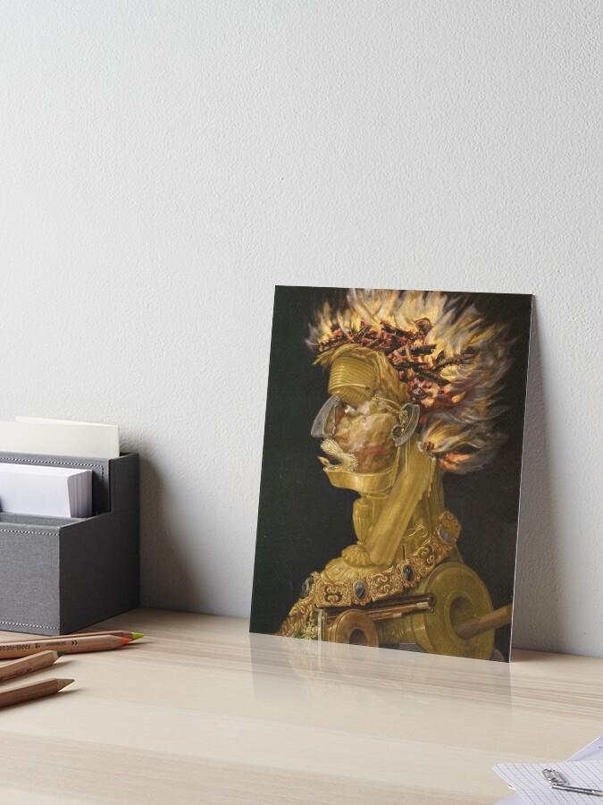 Fire 1566 Poster Canvas Print 1 Giuseppe Arcimboldo