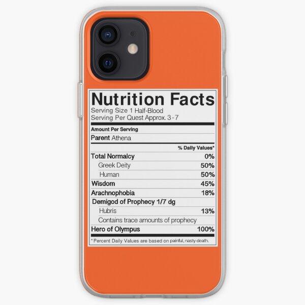 Half-Blood Nutrition Guide (Annabeth) iPhone Soft Case