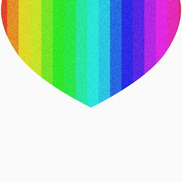 Rainbow Heart by CelticFox