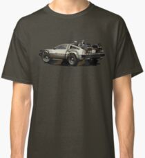 Back to the future Delorean Brown | Car | Cult Movie Classic T-Shirt