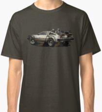 Back to the future Delorean Brown | Car | Cult Movie Classic T-Shirt