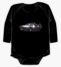 Back to the future Delorean | Cars | Cult Movies One Piece - Long Sleeve
