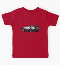 Back to the future Delorean | Cars | Cult Movies Kids Clothes