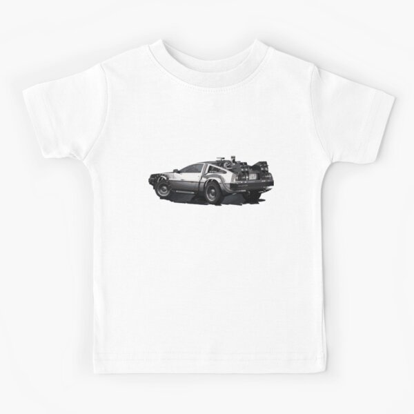 Back to the future Delorean | Cars | Cult Movies Kids T-Shirt