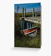 River Worker Greeting Card