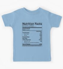 Half-Blood Nutrition Guide (Percy) Kids Tee