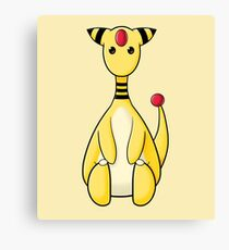 Cute Giraffe Canvas Print
