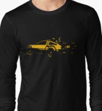 Back to the future Delorean Mustard   Cars   Cult movie T-Shirt