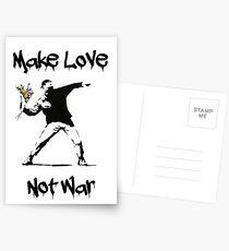 Make Love, Not War Postcards