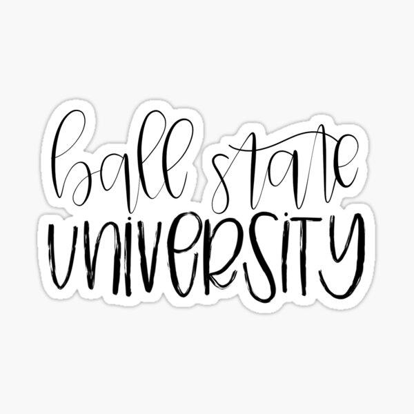 Ball State University Sticker