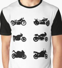 History of Beemer Motorcycles Graphic T-Shirt