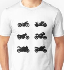 History of Beemer Motorcycles Unisex T-Shirt