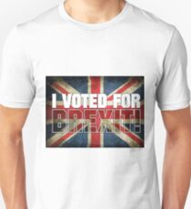 I Voted For Brexit! Unisex T-Shirt