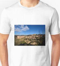 Sorano in early evening, Maremma, Grosseto, Tuscany, Italy Unisex T-Shirt