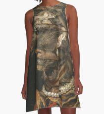 Giuseppe Arcimboldo - Water 1566 A-Line Dress