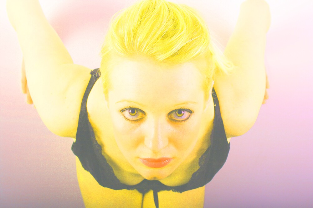 Glowing Girl by Hayley Evans