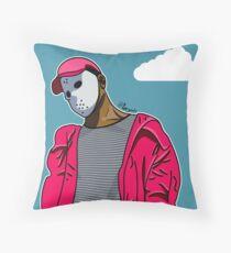 Ski Mask the Slump God Throw Pillow