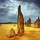 Desert Pinnacle by Annette Blattman