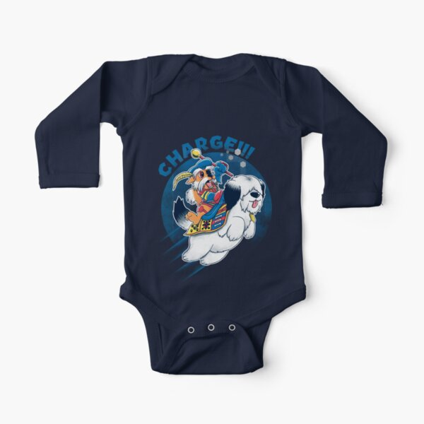 Charge!!! Long Sleeve Baby One-Piece