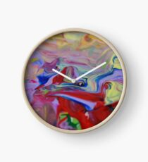 Artist Paints Using Only Her Fingers -Georgia Clock