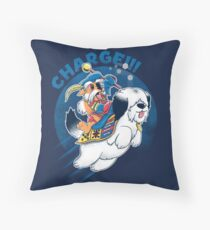 Charge!!! Throw Pillow