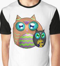 Duo Hiboux Graphic T-Shirt