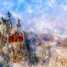 Neuschwanstein Castle by Myron Watamaniuk