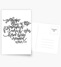 Esther 4:14 Postcards