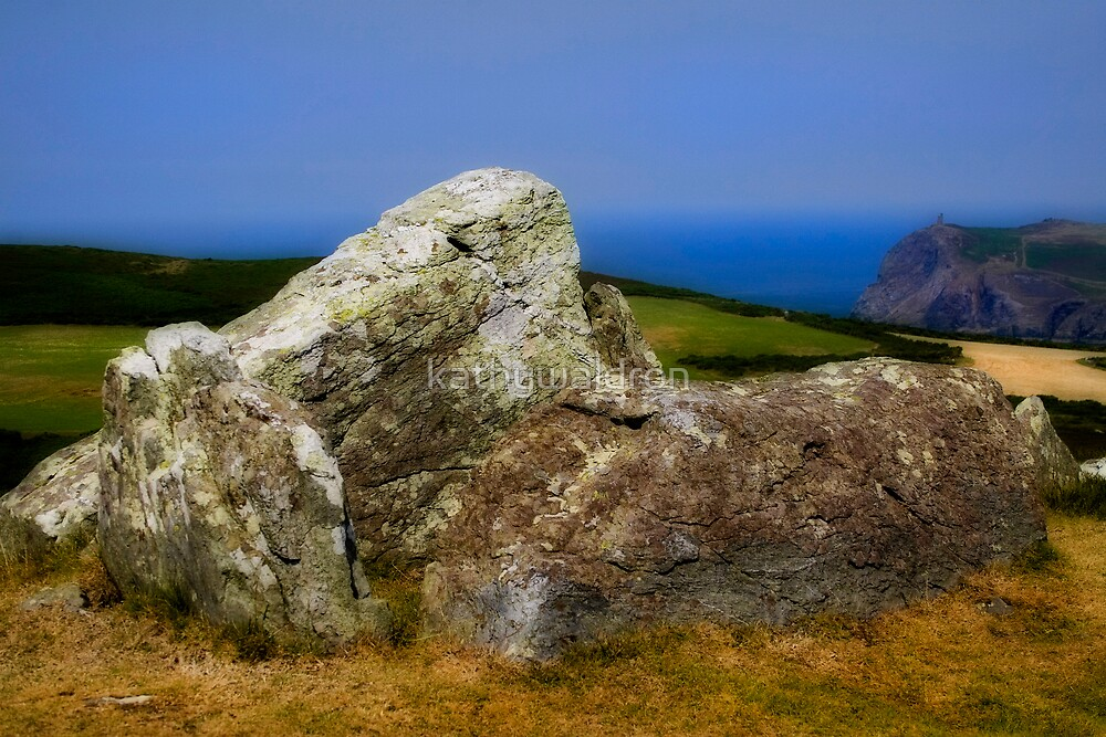 ancient stone by kathywaldron