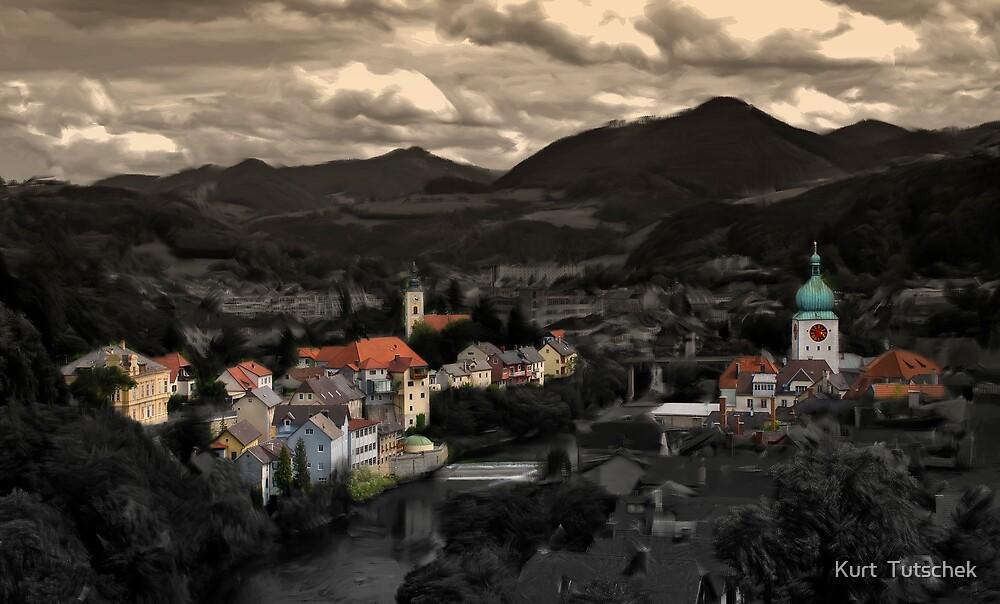 Little town by Kurt  Tutschek