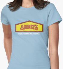 Shoney's (Clean) Womens Fitted T-Shirt