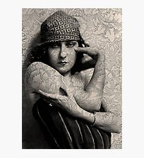 The Gloria Swanson Tattoo Photographic Print