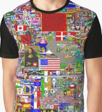 r/Place Graphic T-Shirt