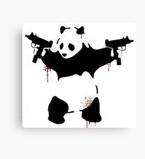 Bad Pandas Canvas Print