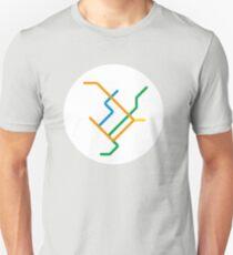 Mini Metros - Montreal, Canada Unisex T-Shirt