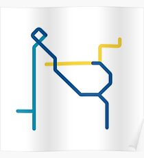 Mini Metros - Vancouver, Canada Poster