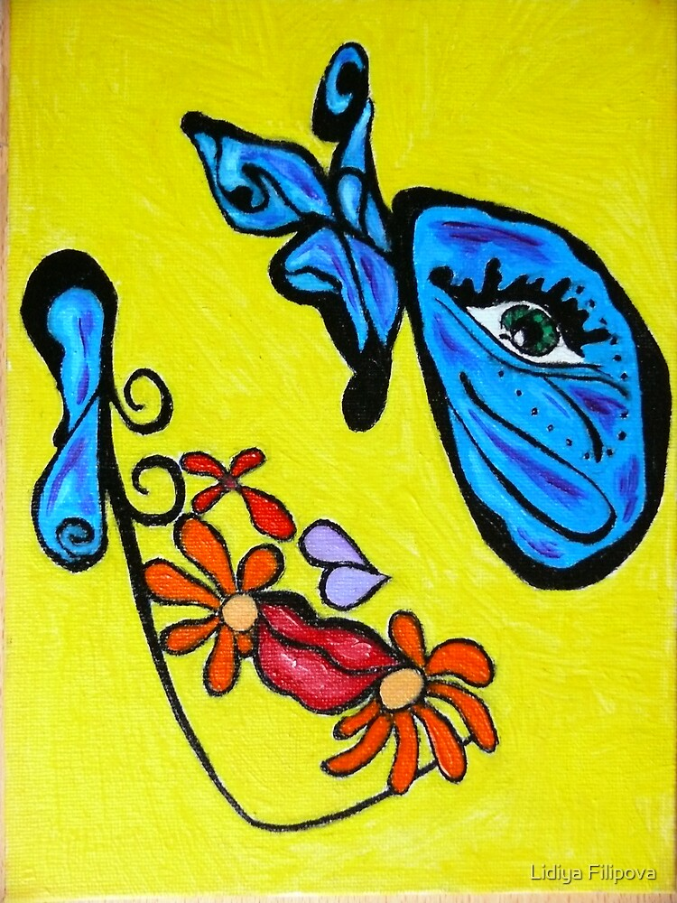 Dreaming of the Butterfly by Lidiya