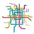 Mini Metros - Beijing, China by transitoriented