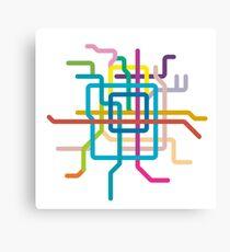 Mini Metros - Beijing, China Canvas Print