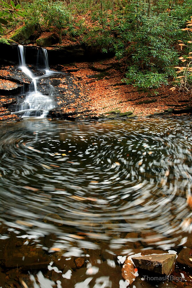 Middle Fall, Little Stoney Falls by ThomasRBiggs