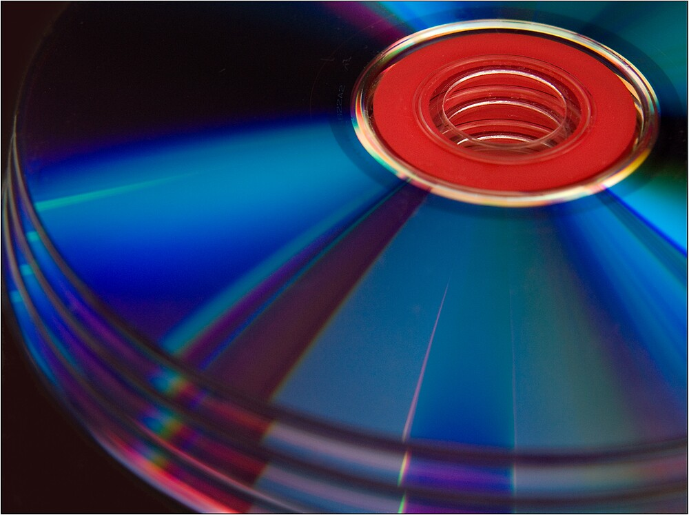 Abstract discs by Paul Tremble