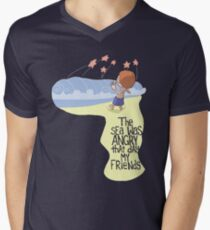 Angry Sea Men's V-Neck T-Shirt