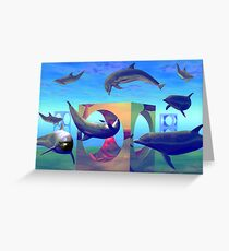 Dolpherian Playground Greeting Card