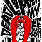Tuff Toons - Deadlifting My Life Away by Gilles Bone