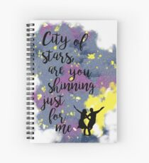 Are you shinning just for me? Spiral Notebook
