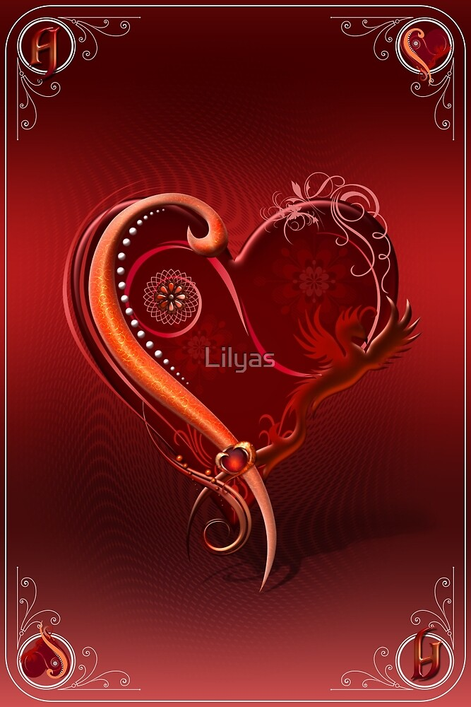 The Chromatic Deck - Ace of Hearts by Lilyas