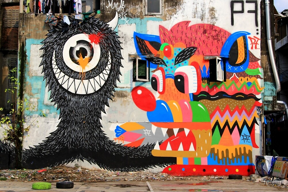 Street Art: global edition # 62 by fenjay